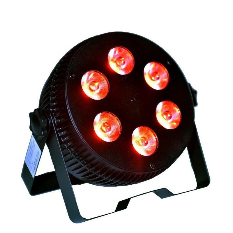 LIGHT4ME ART PAR 6x10W reflektor LED RGBW cichy