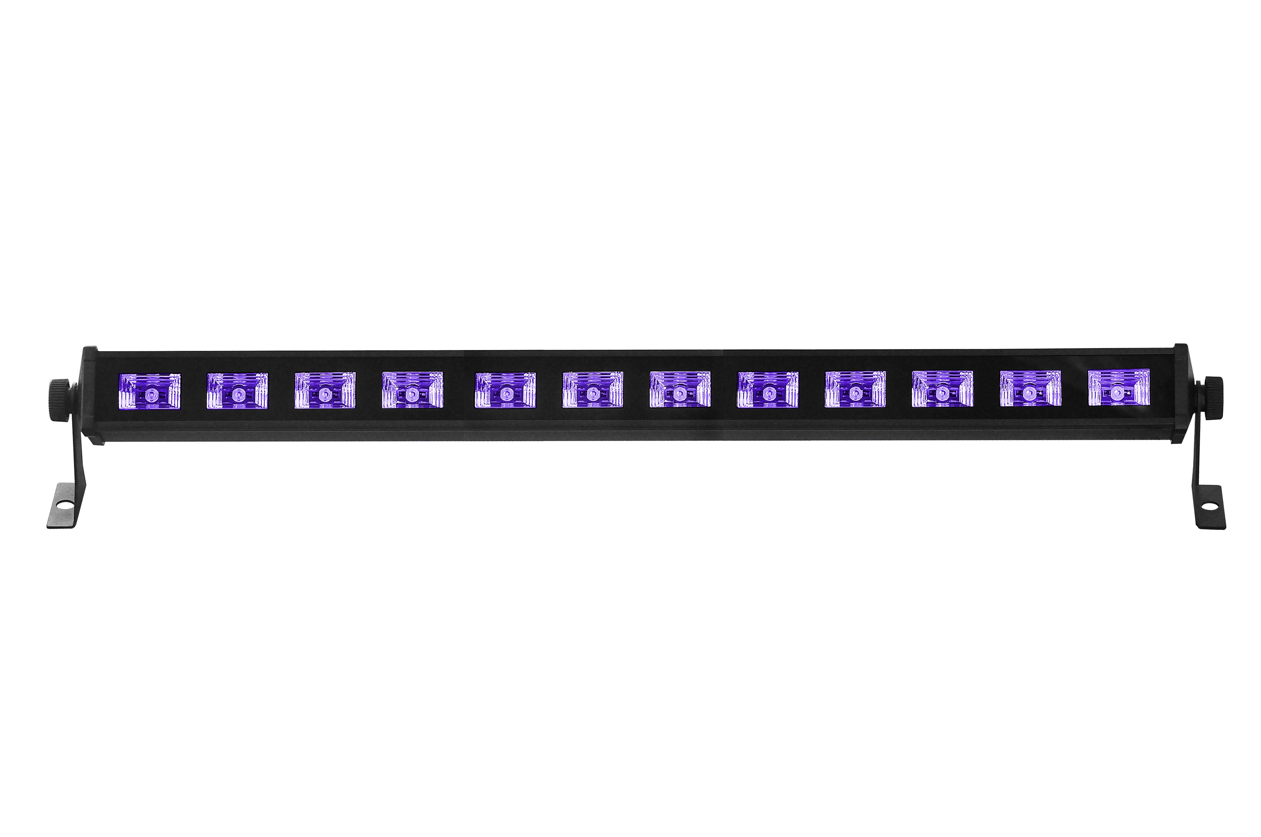 LIGHT4ME LED BAR UV 12 LISTWA OŚWIETLACZ 12X3W