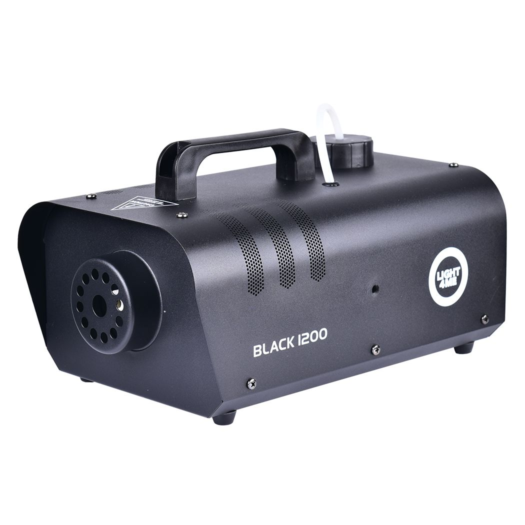 LIGHT4ME BLACK 1200 - wytwornica dymu, mgły