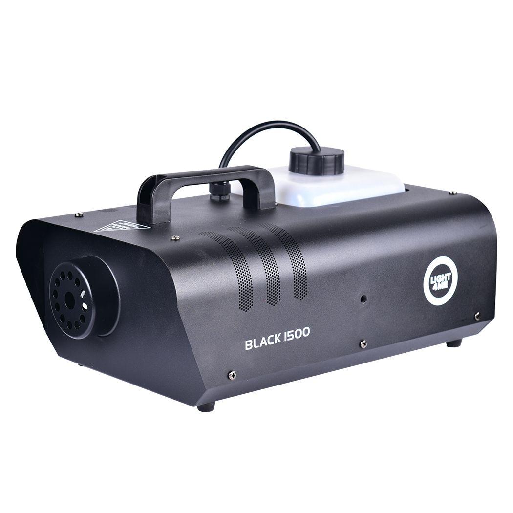 LIGHT4ME BLACK 1500 - wytwornica dymu, mgły