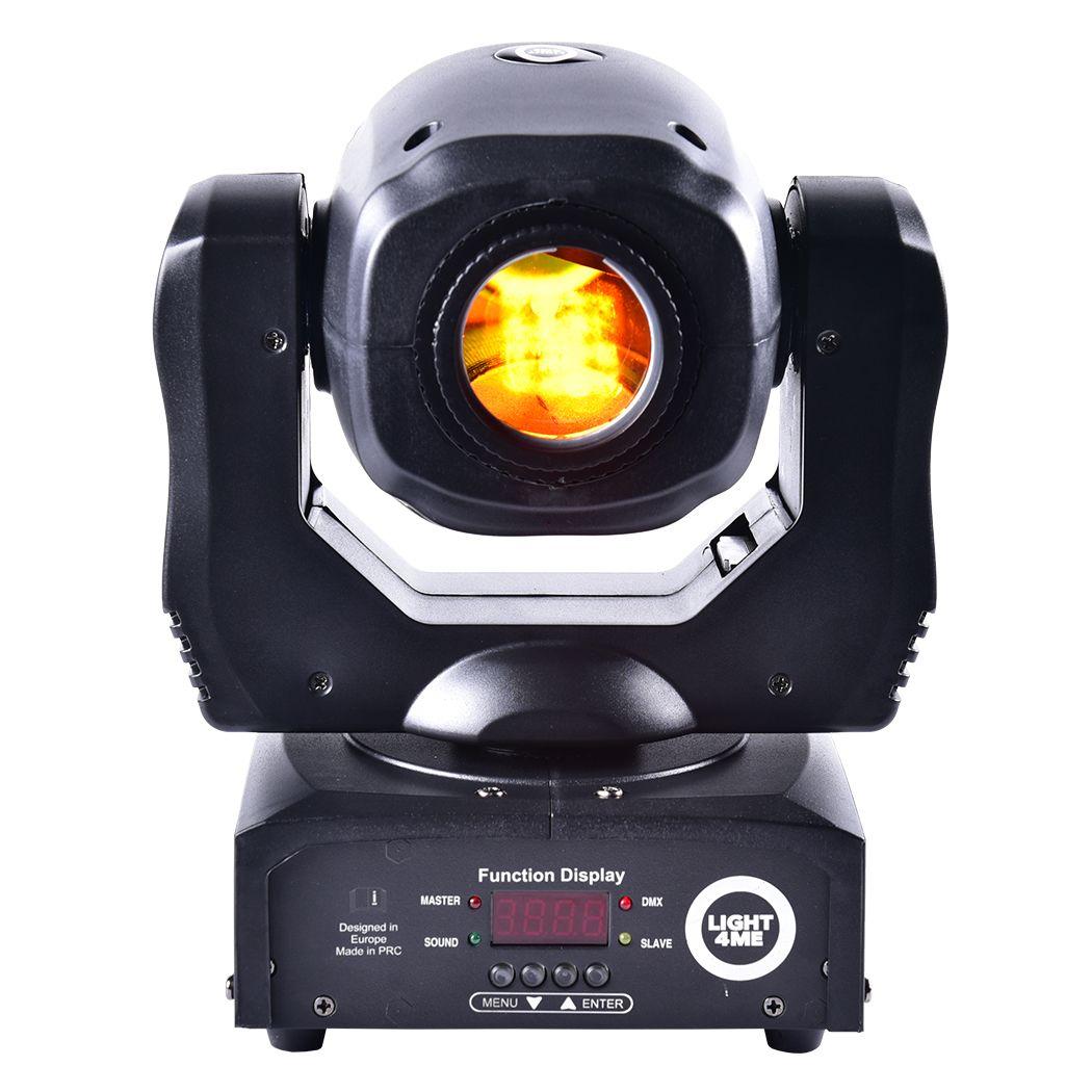 LIGHT4ME MINI SPOT 60 PRISM mała głowa ruchoma LED