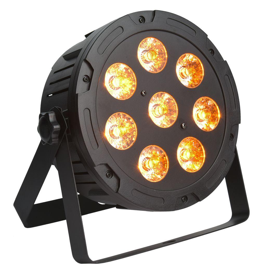 LIGHT4ME TRI PAR 8x9W MKII RGB LED slim płaski