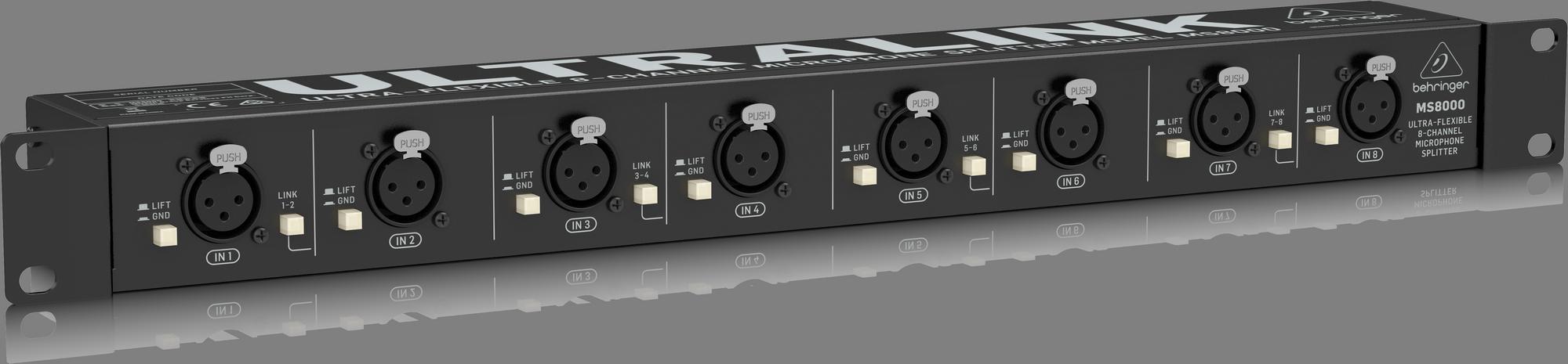 BEHRINGER MS 8000 ULTRALINK splitter mikrofonowy