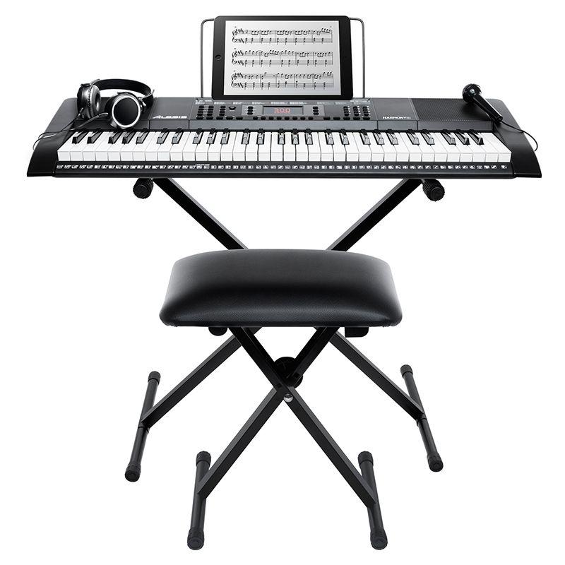 ALESIS HARMONY 61 MKII keyboard do nauki klawisze zestaw