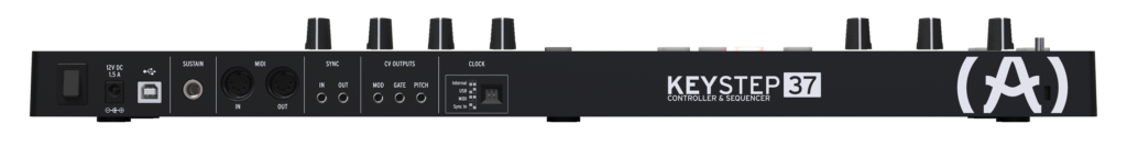 ARTURIA KEYSTEP 37 BLACK klawiatura sterująca