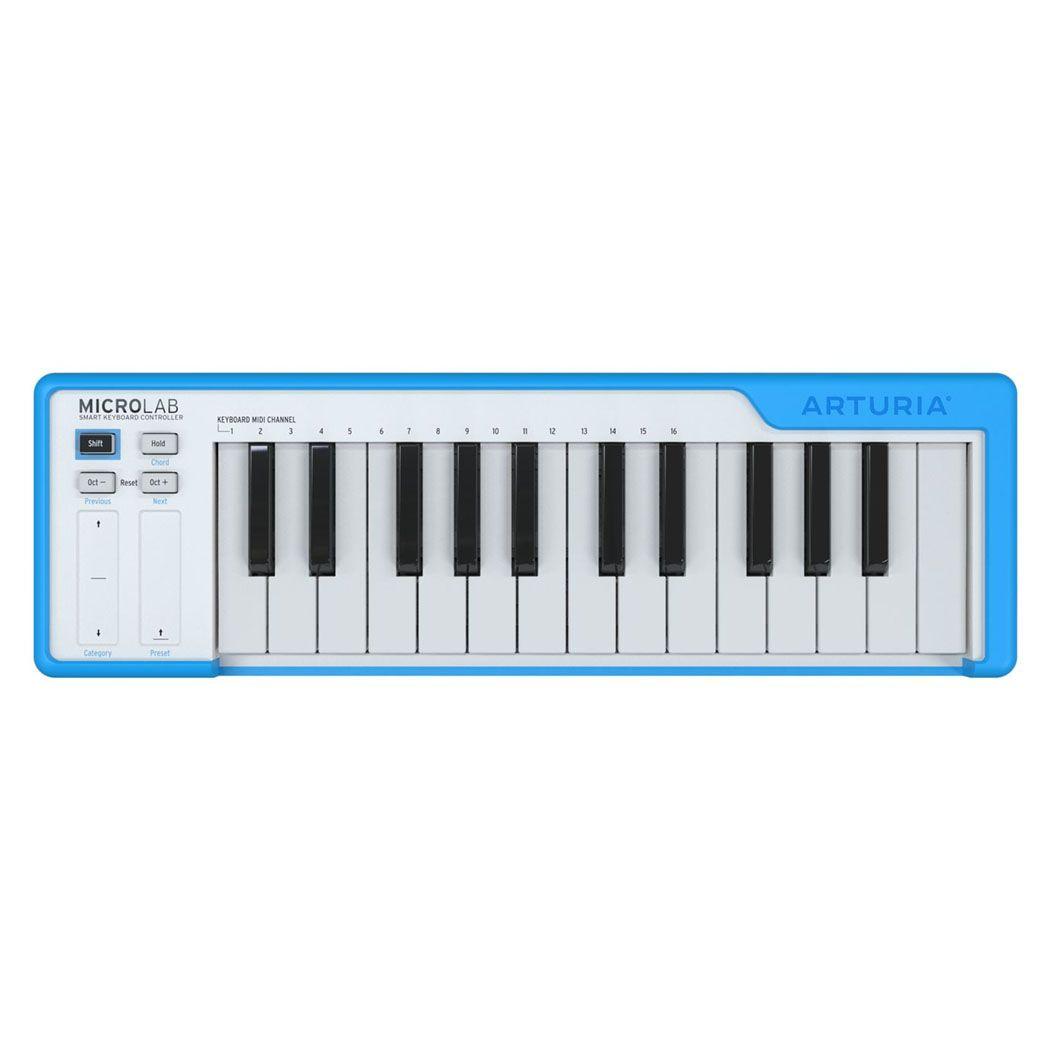 ARTURIA MICROLAB BL klawiatura sterująca MIDI USB