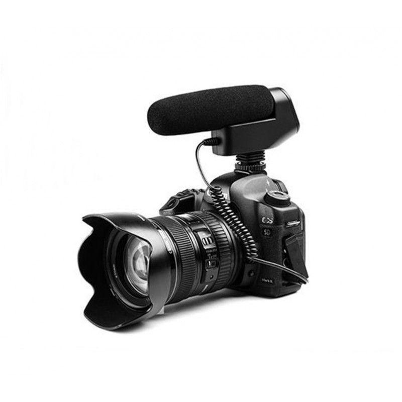 BOYA BY-VM600 kierunkowy mikrofon shotgun aparat