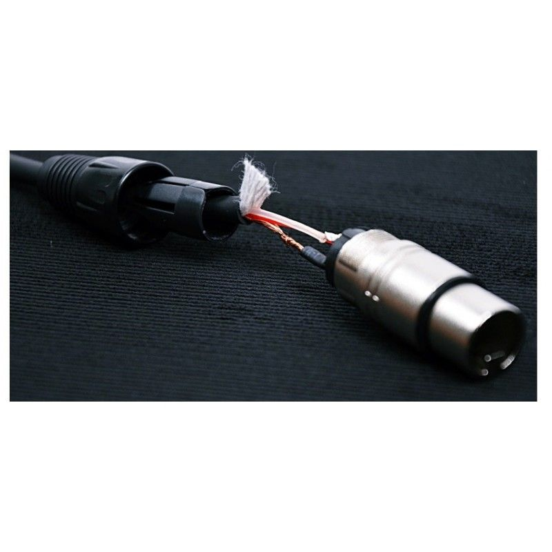 CABLE4ME przewód kabel DMX 3Pin 2m do świateł