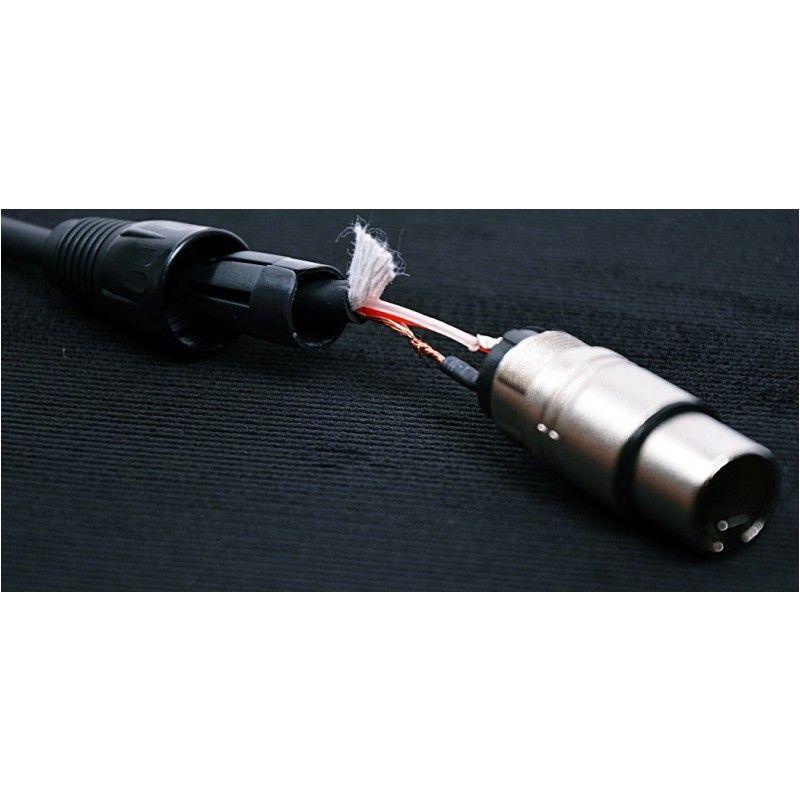 CABLE4ME przewód mikrofonowy sygnałowy XLR/XLR 1m
