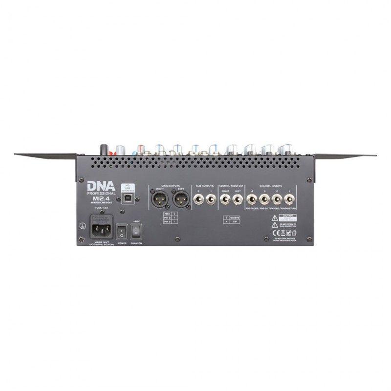 DNA M12.4 - analogowy mikser estradowy USB, FX