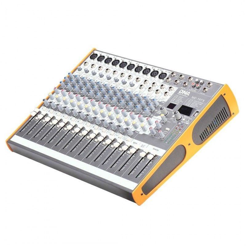 DNA ME-16FX mikser audio 16 kanał USB Bluetooth
