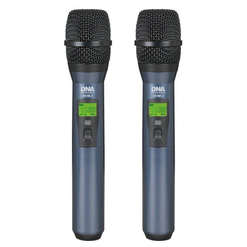 DNA RHM-2 bezprzewodowy zestaw 2 mikrofonów