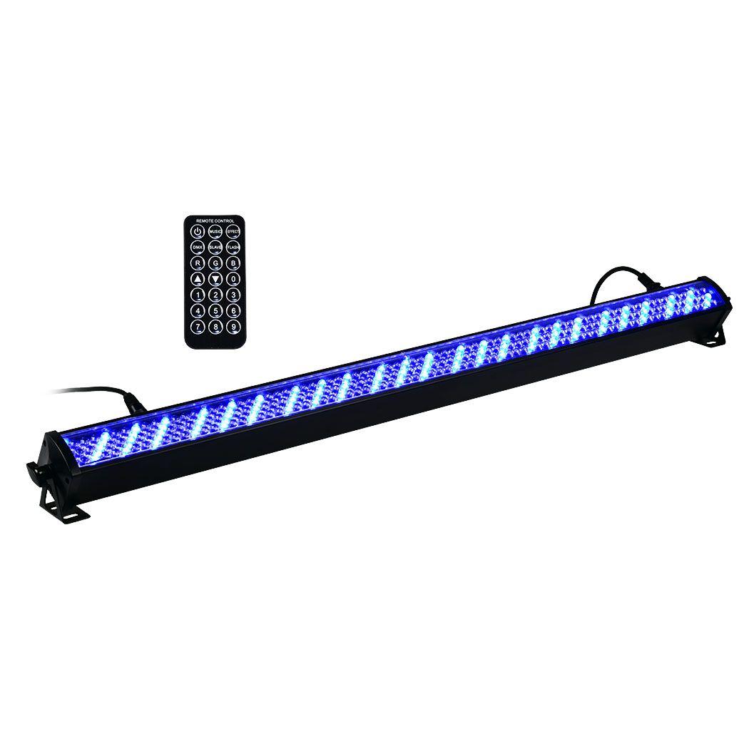 LIGHT4ME BASIC LIGHT BAR LED 8 RGB MKII listwa belka czarna BK + pilot IR