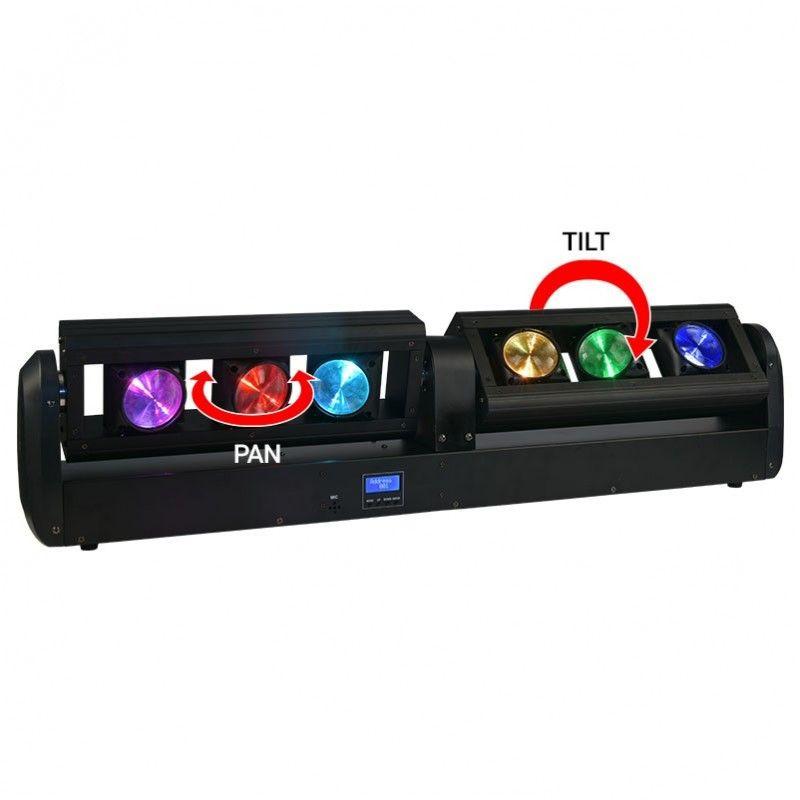 LIGHT4ME BEAM BAR V2 ruchoma belka LED 6x12W RGBW
