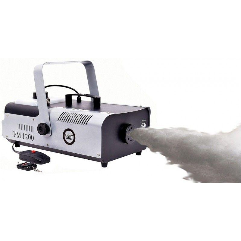 LIGHT4ME FM 1200 wytwornica dymu pilot bezprzew.