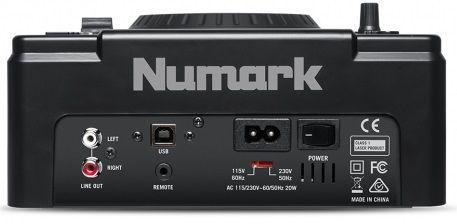 NUMARK NDX 500 kontroler DJ odtwarzacz CD USB MP3