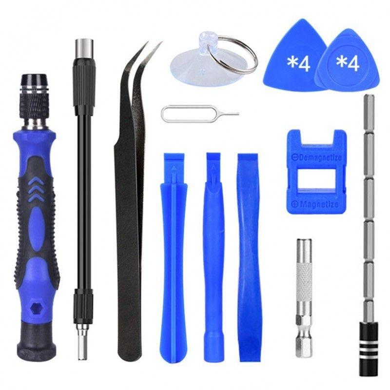 NN 115-1 BL zestaw narzędziowy śrubokręt + bity