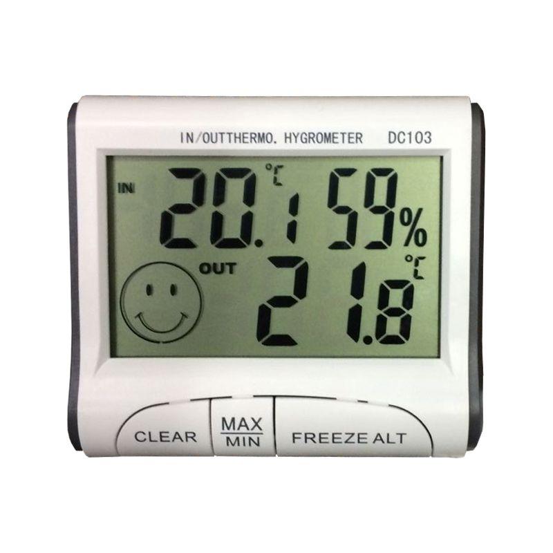 NN HIGROMETR wilgotnościomierz termometr stacja pomiarowa sonda