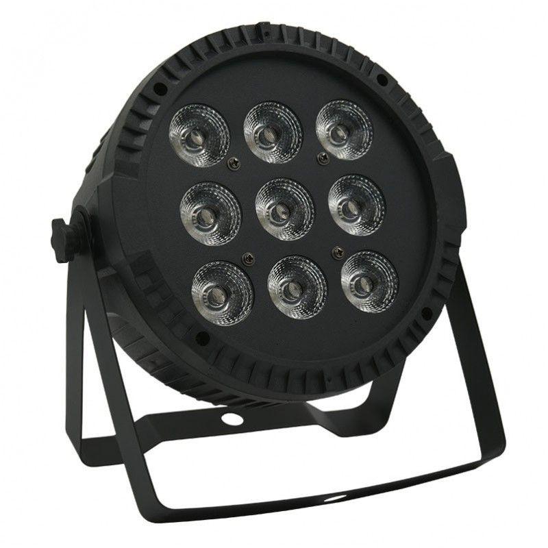 NN PAR RGBW 9x10 reflektor sceniczny LED