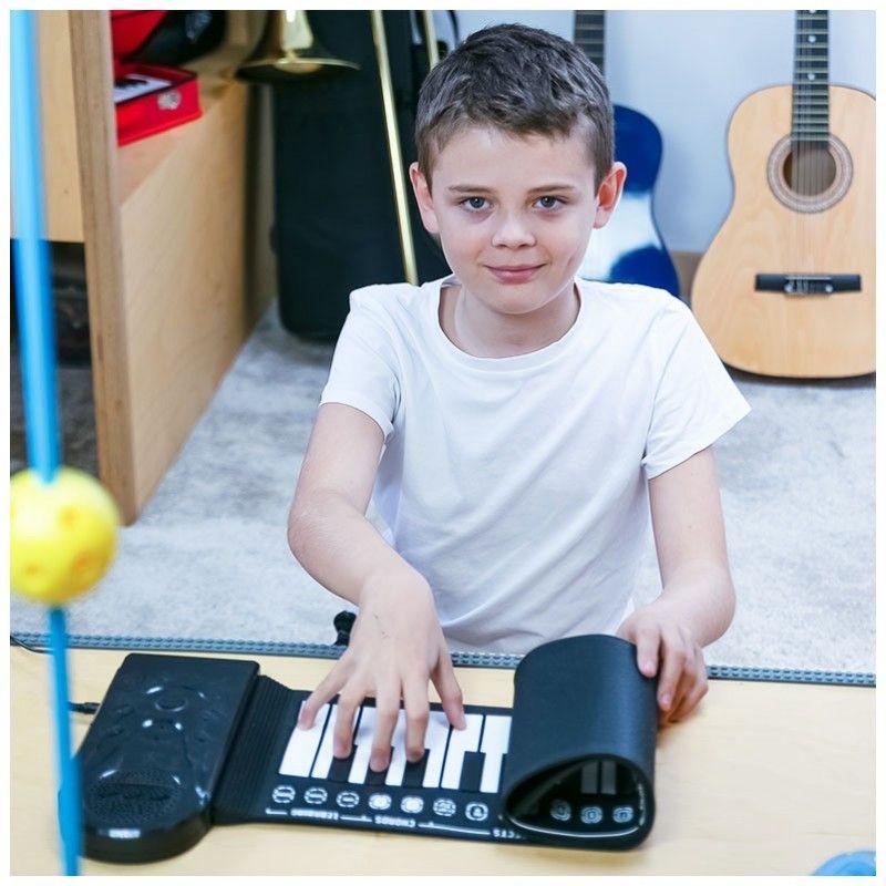 NN ROLL 49 zwijany przenośny keyboard dla dzieci