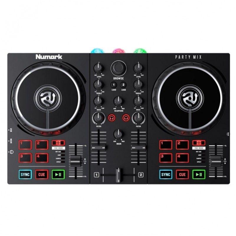 NUMARK PARTY MIX II mikser DJ + SŁUCHAWKI