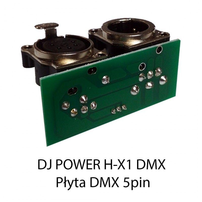 S. DJ POWER H-X1 DMX PŁYTA DMX 5pin