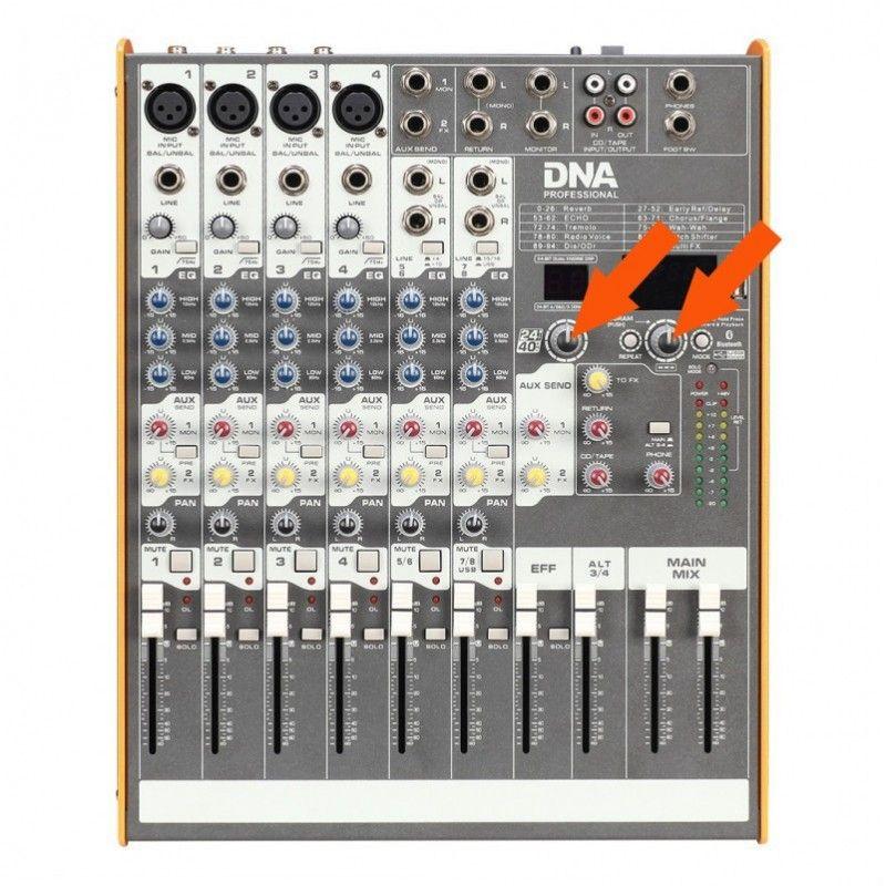 S. DNA ME-16/10/8FX DUŻE POKRĘTŁO