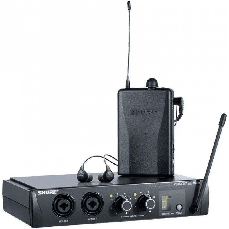 SHURE PSM 200 bezprzewodowy odsłuch P2TR112GR