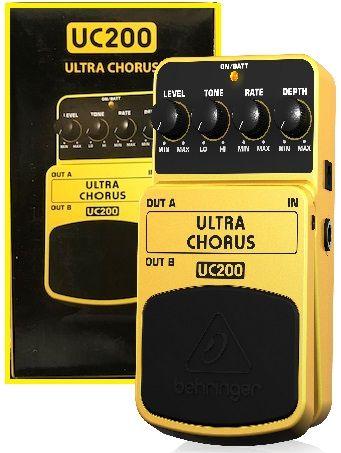 BEHRINGER UC 200 efekt gitarowy Ultra Chorus