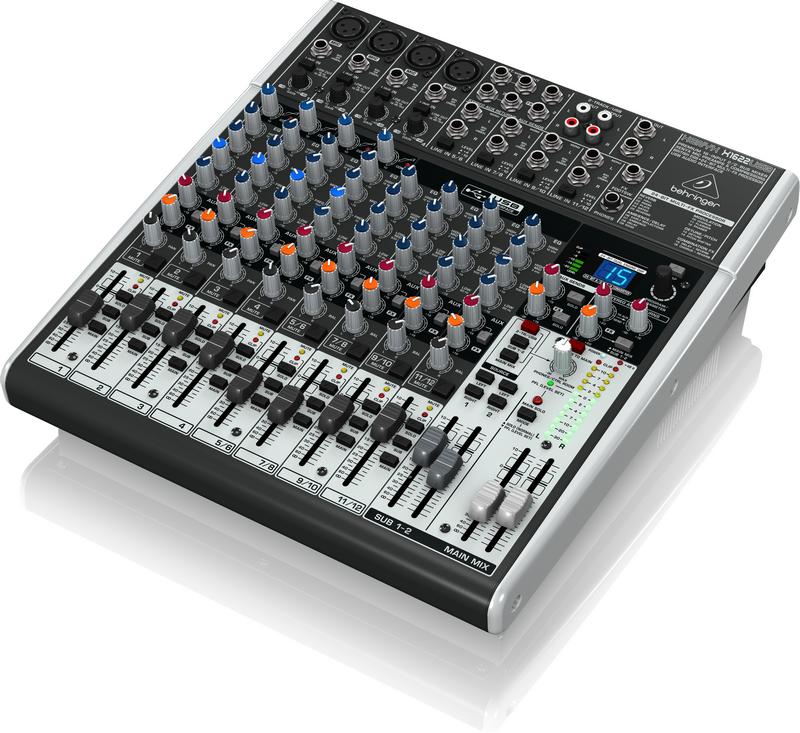 BEHRINGER XENYX X 1622 USB mikser analogowy audio