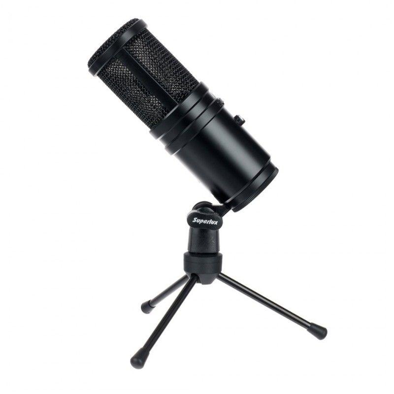 SUPERLUX E 205U MKII mikrofon pojemnościowy USB