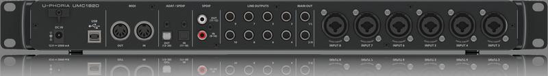 BEHRINGER U-PHORIA UMC 1820 interfejs USB/MIDI