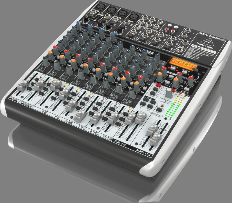 BEHRINGER XENYX QX 1622 USB mikser analogowy audio