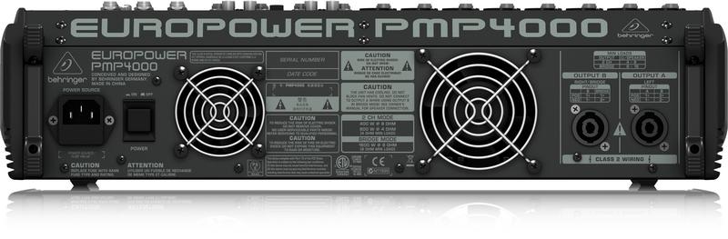 BEHRINGER PMP 4000 powermikser analogowy 2x800W