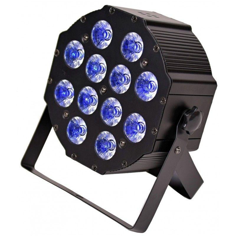 LIGHT4ME FLAT QUAD PAR 12x10W RGBW płaski par