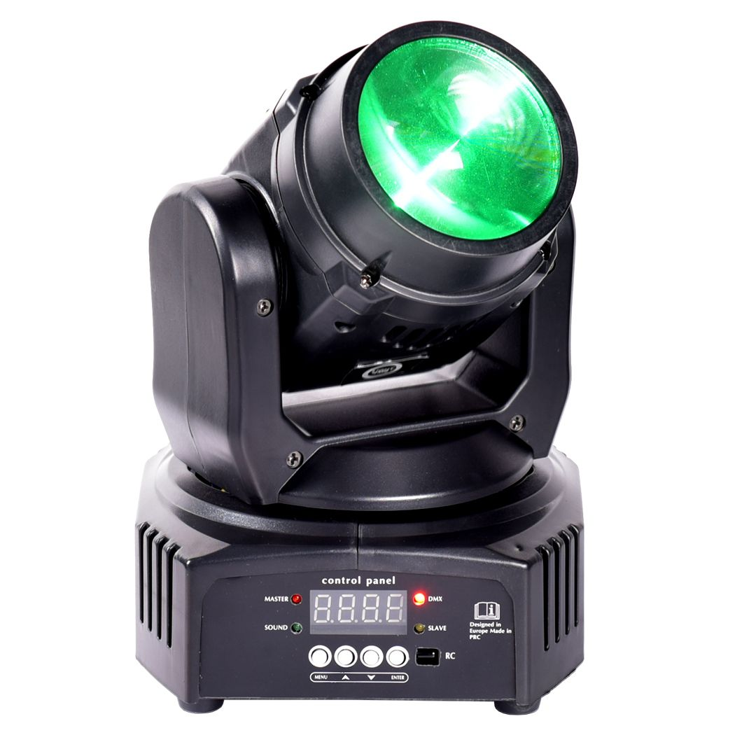 LIGHT4ME BEAM 10 mini głowica ruchoma LED mała