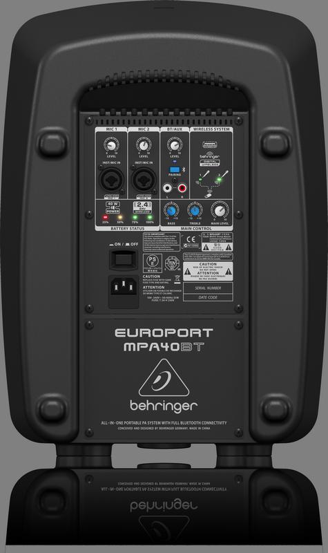 BEHRINGER MPA100BT mobilny system nagłośnieniowy