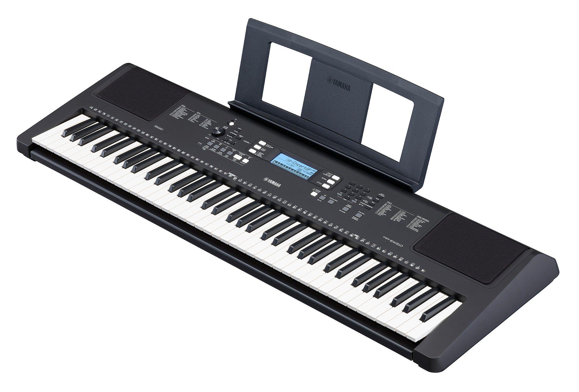 YAMAHA PSR EW 310 keyboard z dynamiką 76 klawiszy