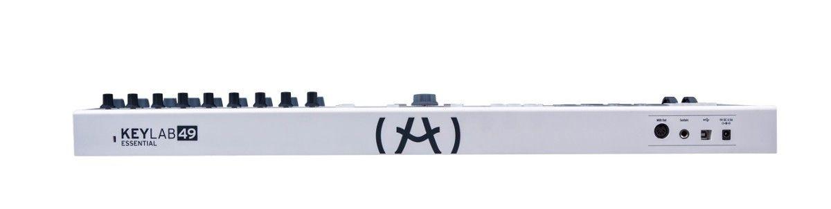 ARTURIA KEYLAB ESSENTIAL 49 klawiatura sterująca