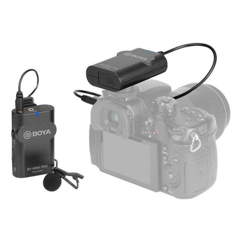 BOYA BY-WM4 PRO-K1 mikrofon bezprzewodowy lavalier