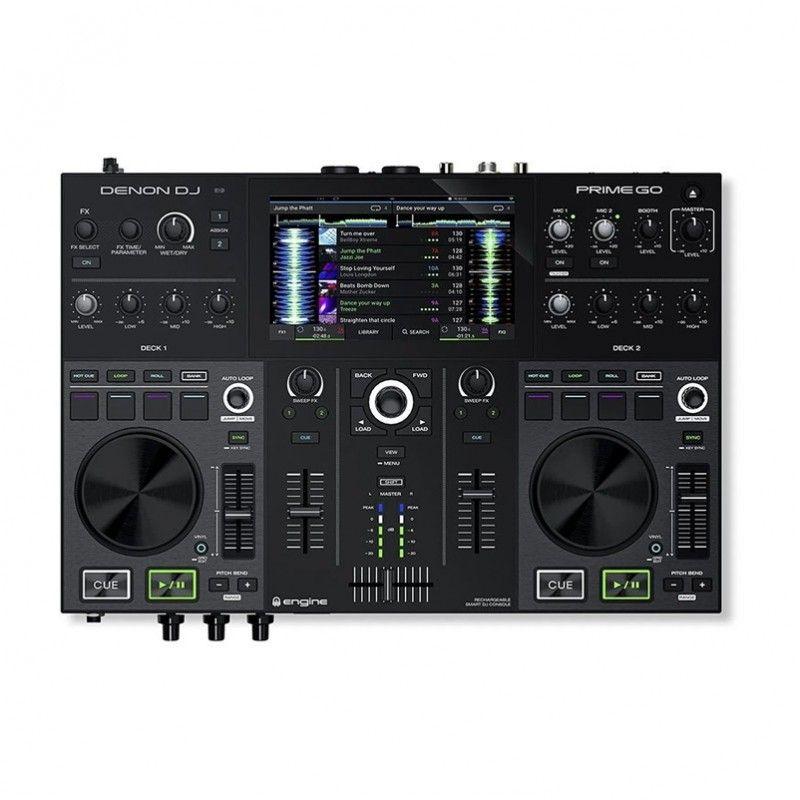 DENON DJ PRIME GO kontroler konsola na baterie