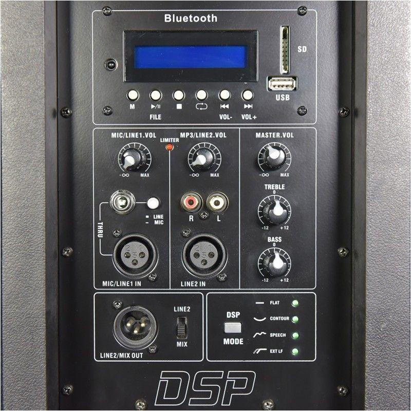 DNA DPU-12 kolumna aktywna multimedialna 250W RMS