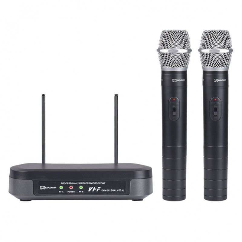 EXPLOSION 502 DUAL VOCAL - mikrofony bezprzewodowe
