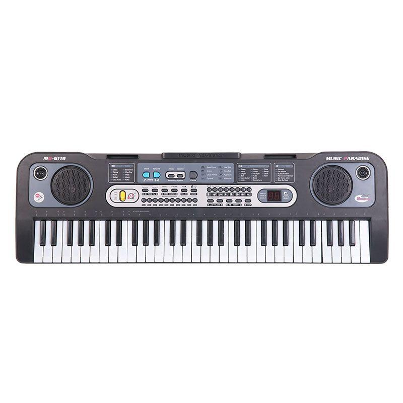 MQ 6119 KEYBOARD klawisze organy z mikrofonem dla dzieci