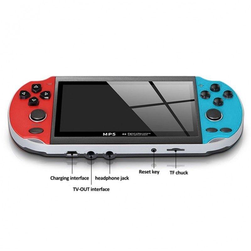 """NN MP5 przenośna mini konsola do gier wideo 4,3"""""""