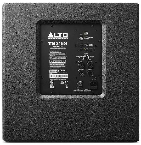 ALTO TS 315S SUB subwoofer aktywny 2000W