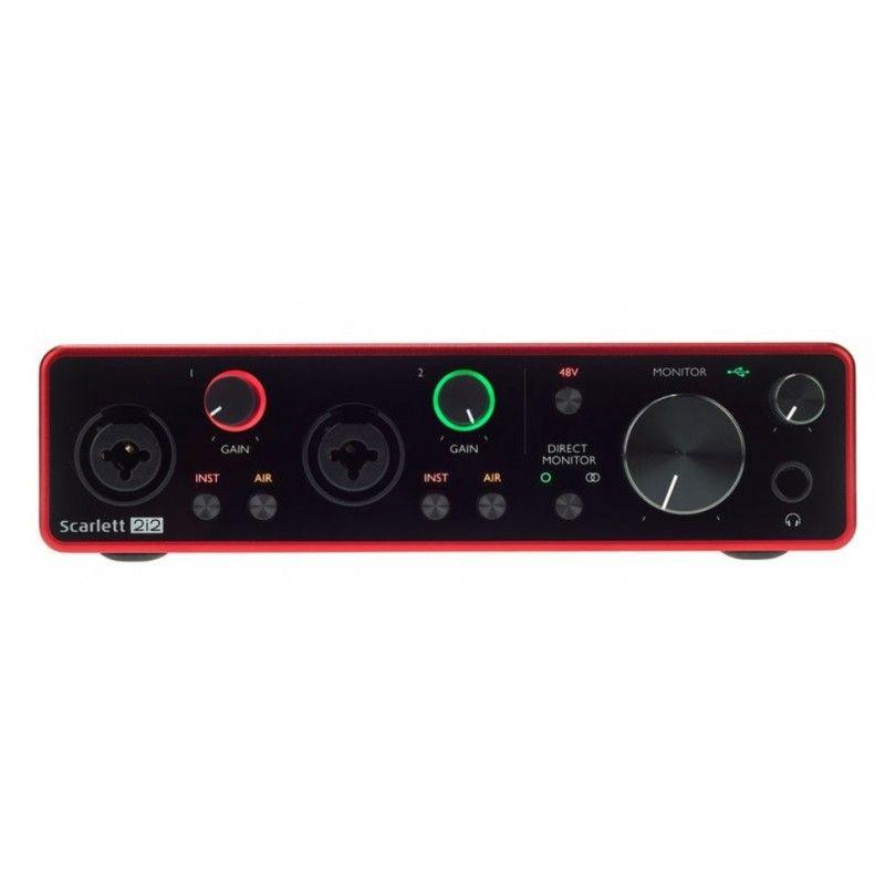 FOCUSRITE SCARLETT 2 i 2 3RD GEN interfejs audio