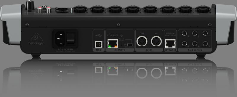 BEHRINGER X18 mikser cyfrowy USB 18 kanałowy Wi-fi
