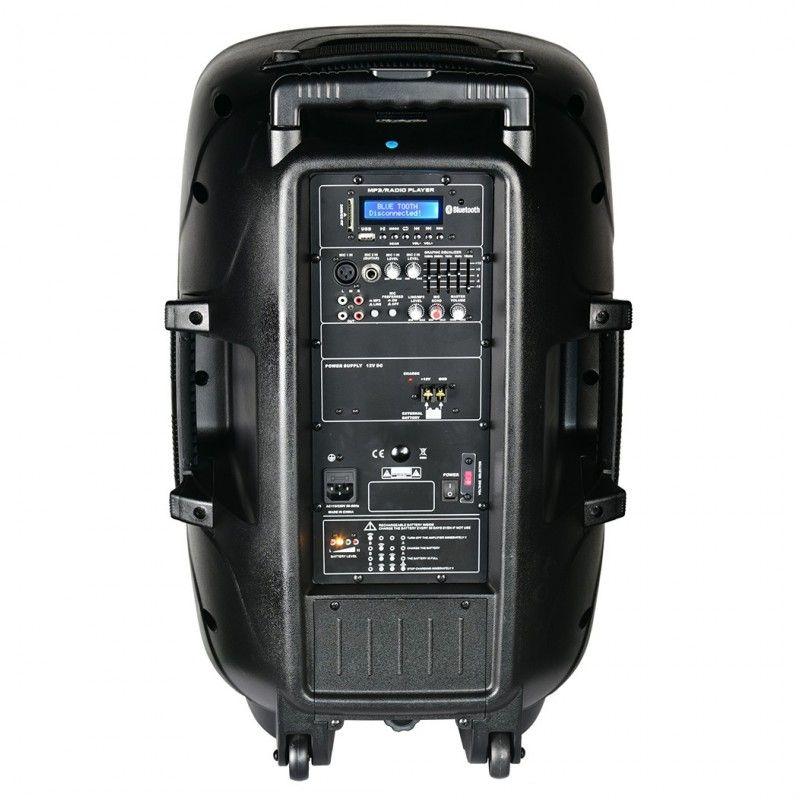 EXPLOSION CLUB-15E kolumna USB MP3 FM BT Uszkodzon