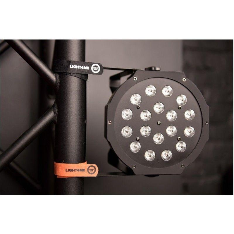 LIGHT4ME OPASKA RZEPOWA 20x400 mm pomarańczowa